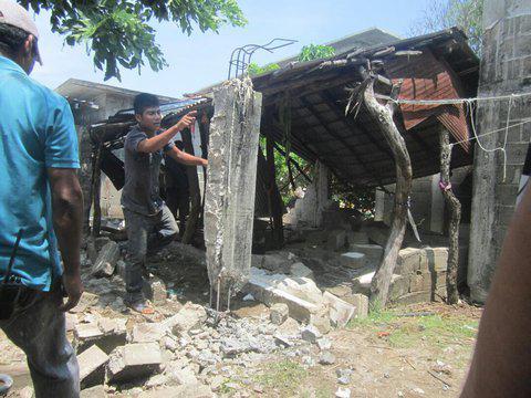 Fotografias de trabajo voluntario en solidaridad con damnificados de sismos de septiembre de 2017